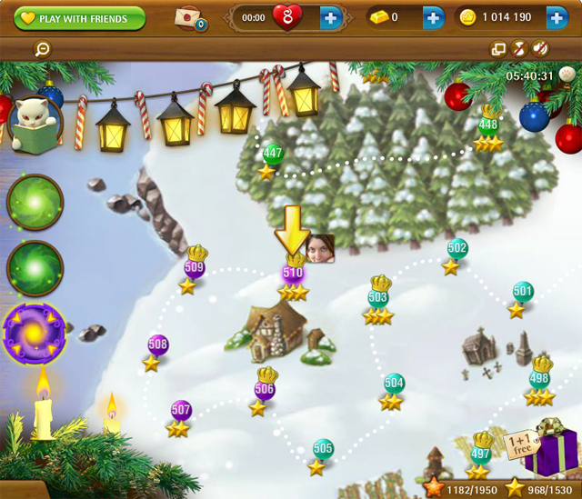 bubble witch road home